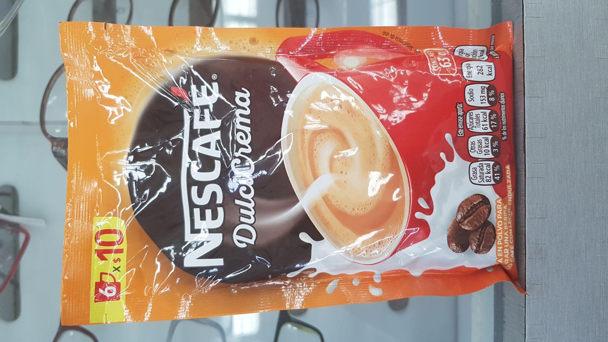 Chedraui: Nescafe dulcicrema a $2