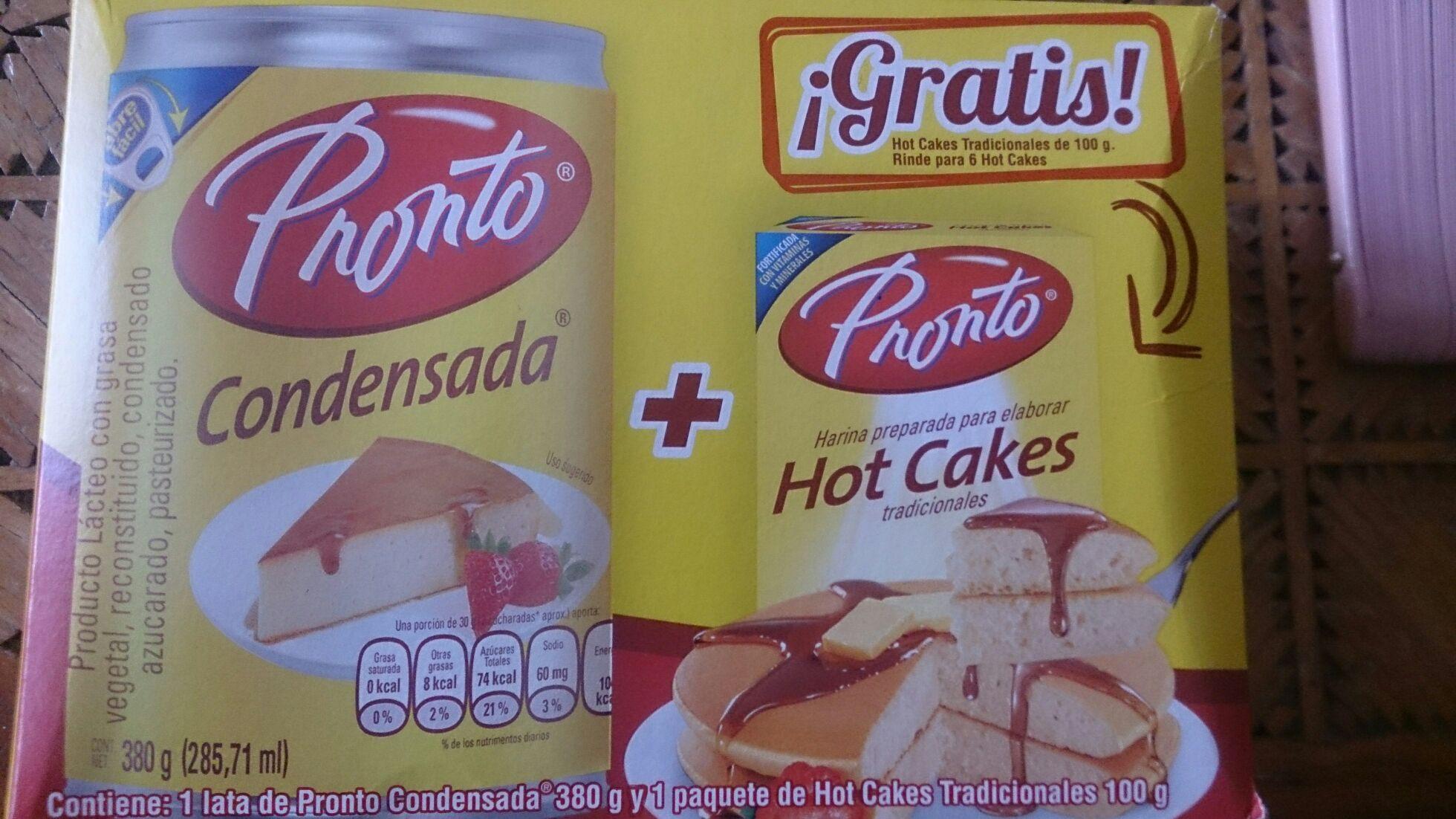 Chedraui: Leche Condensada +  Harina Hot Cakes Pronto