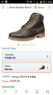 Amazon: botasSteve Madden cannter talla 9 US