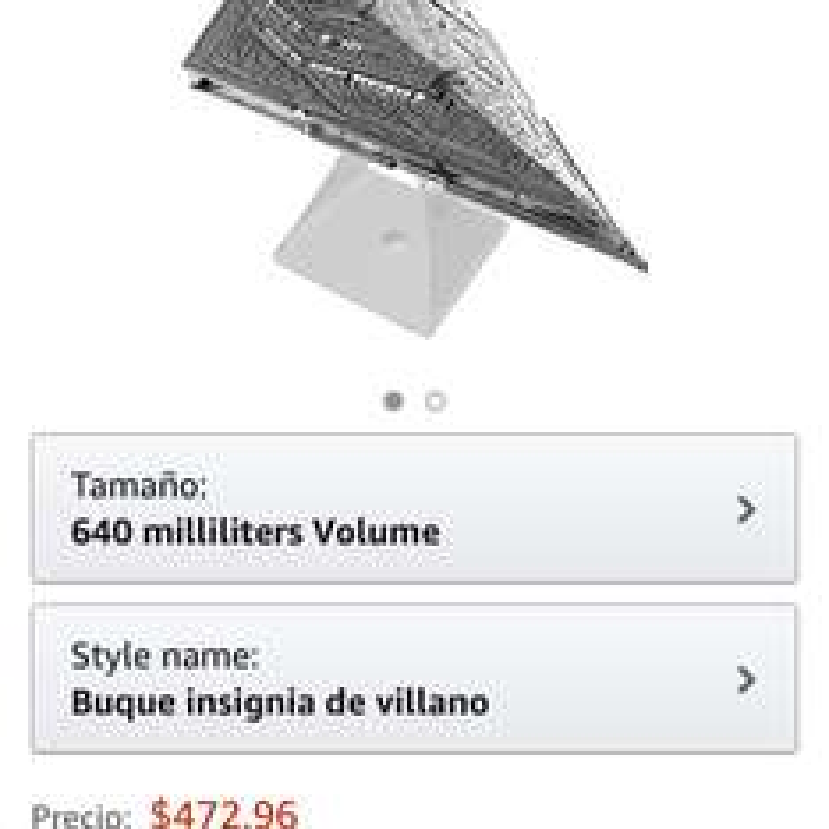 Amazon: bocina Star Wars Bluetooth iHome destructor estelar