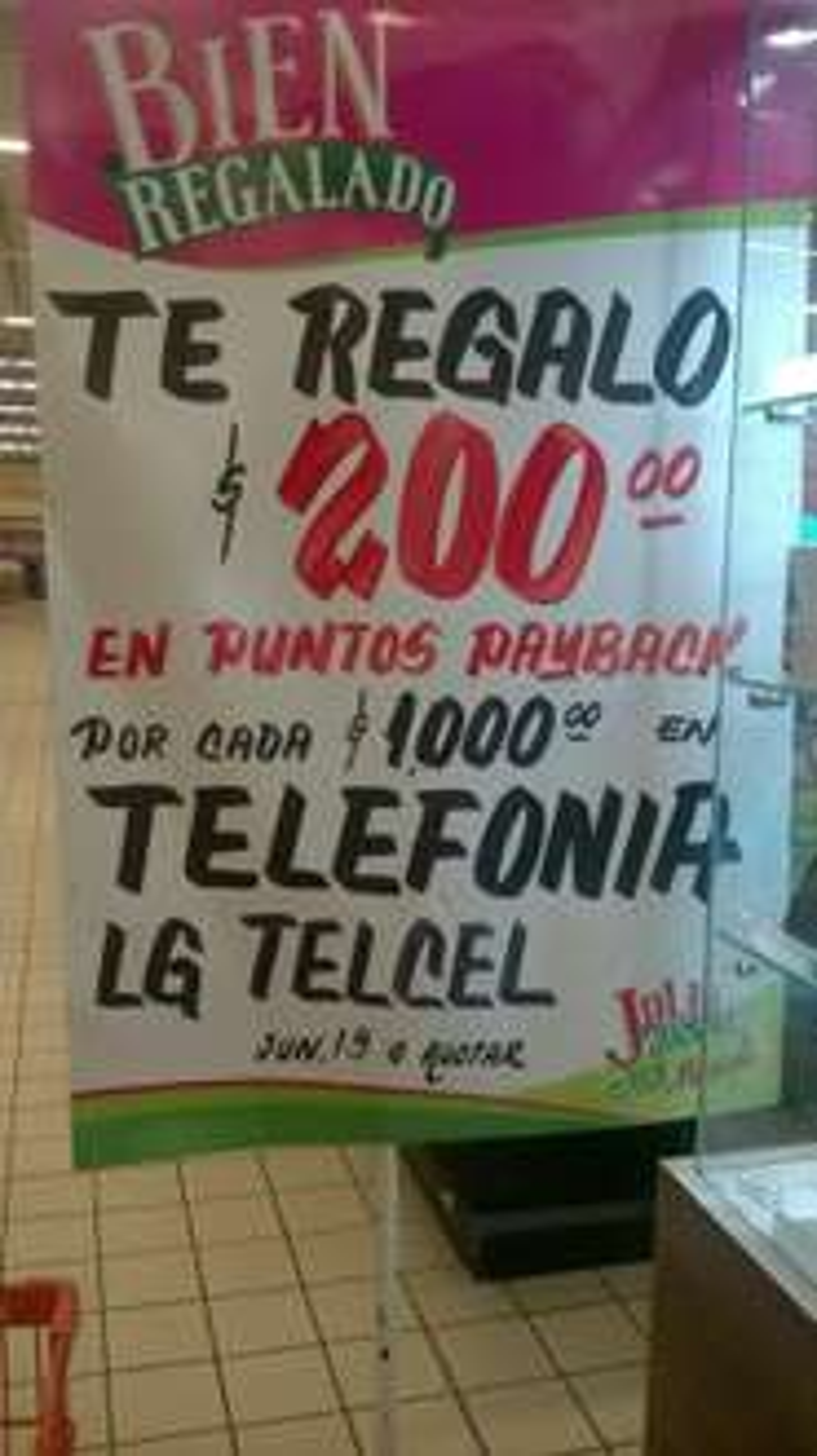 Julio Regalado 2017 en Comercial Mexicana: $200 en puntos Payback en TELCEL por cada $1,000