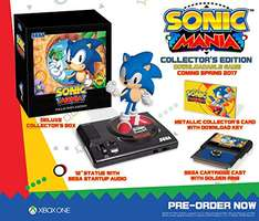 Amazon: Sonic Mania Collectors Edition para Xbox One
