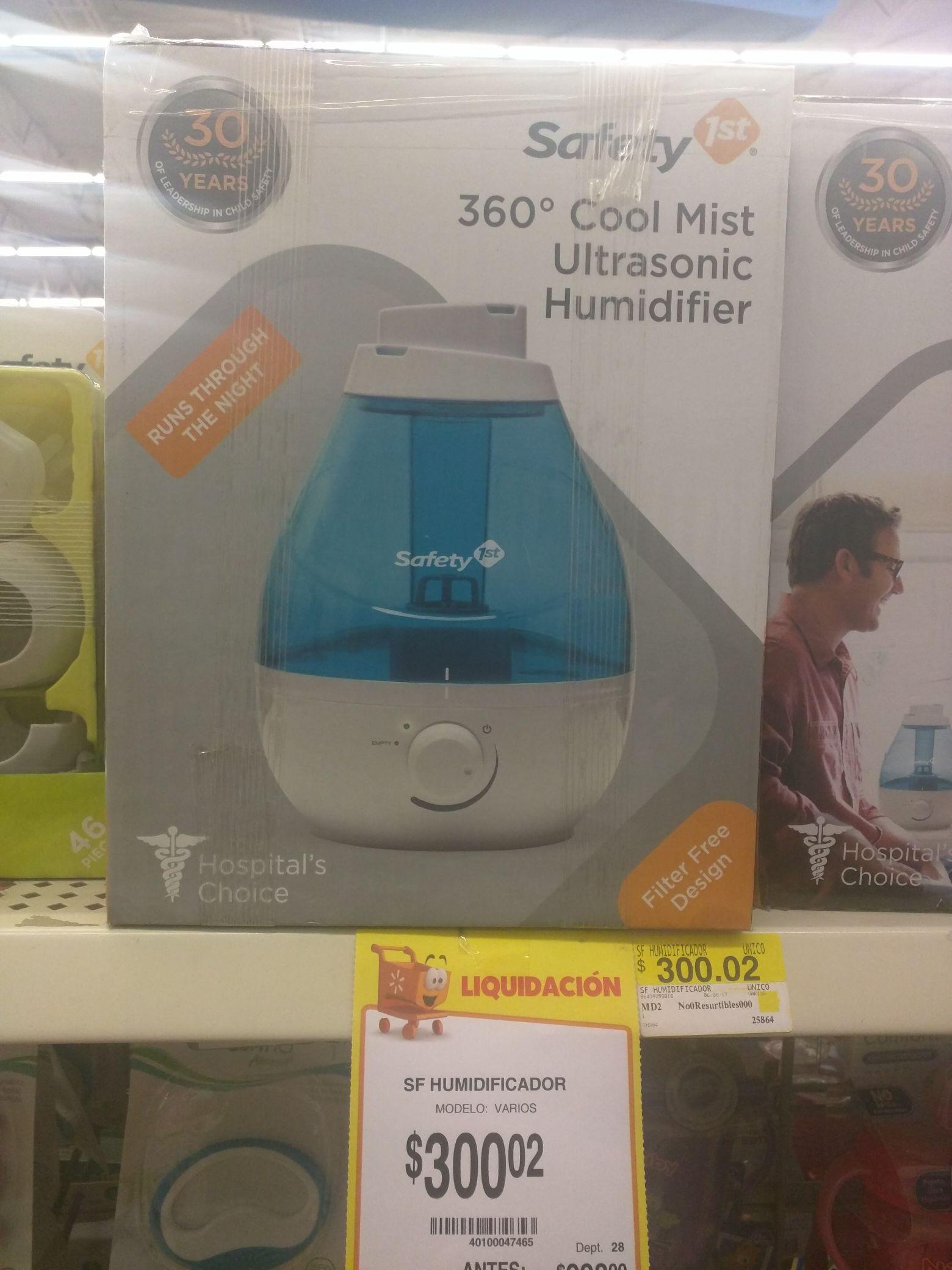 Walmart centro sur GDL: Humidificador