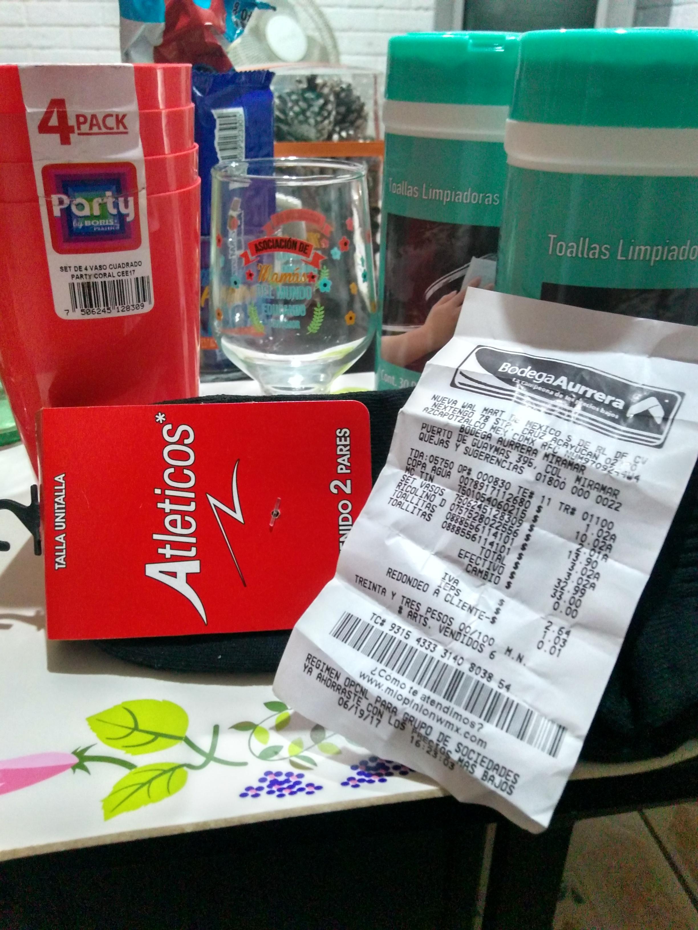 Bodega Aurrerá Miramar en Zapopan jalisco: empecemos otra semana de cosa baratita (ej. Set de Vasos a $2.01)