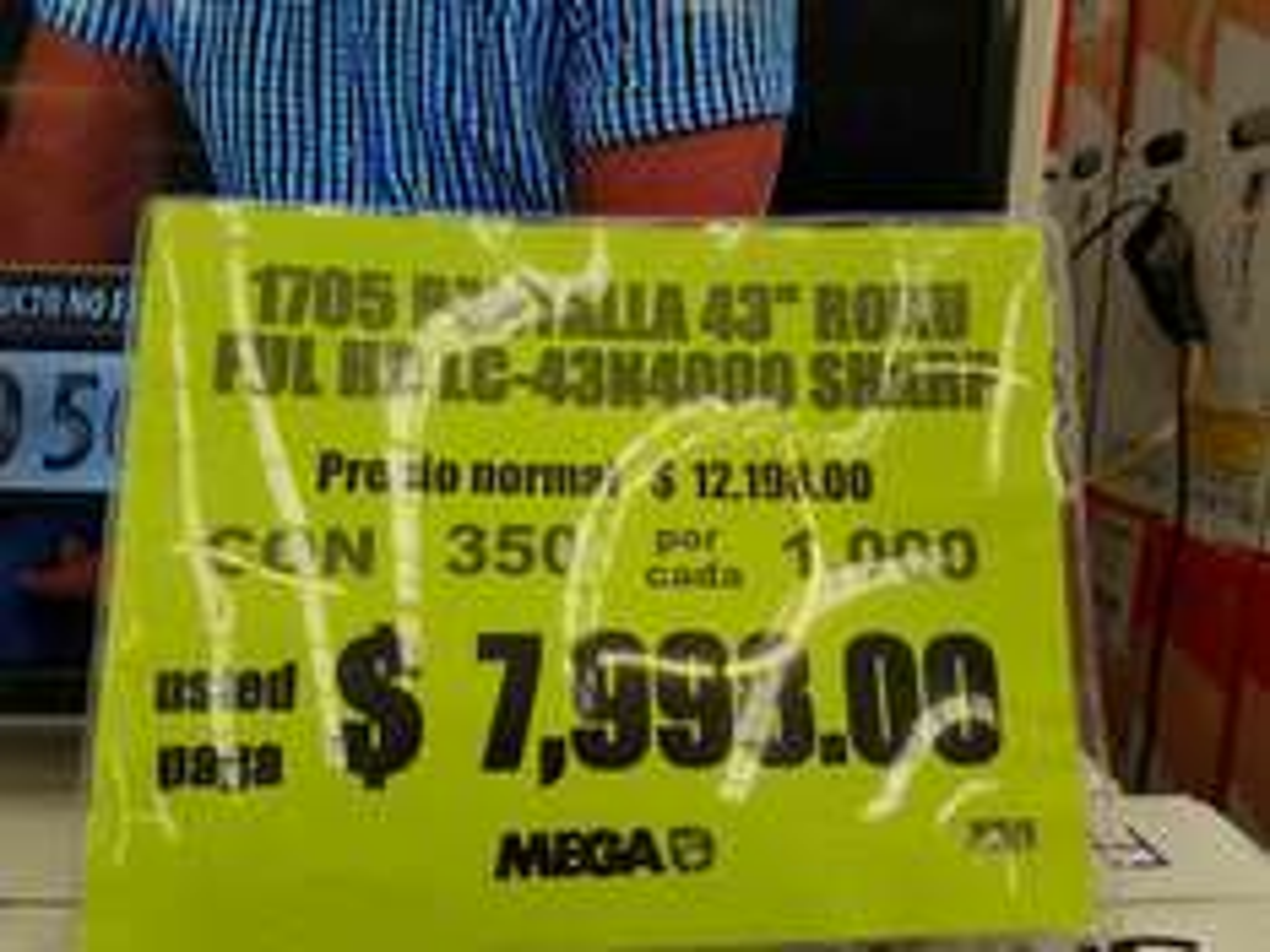 """Comercial Mexicana Xalapa: pantalla Sharp 43"""" TV Roku"""