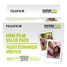 Amazon: Fujifilm Instax Mini Film Value Pack - 60 Images
