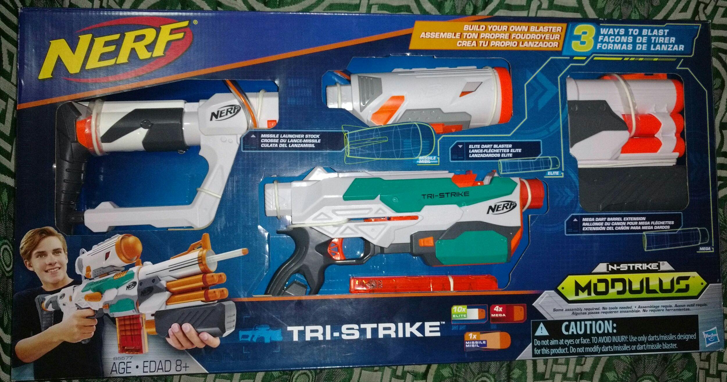 Walmart: Nerf modulus TRI-STRIKE a $599.03