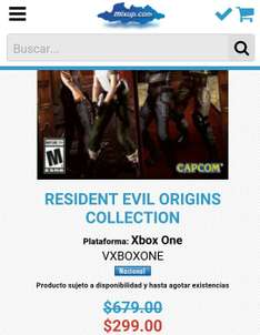 Mixup: Resident Evil Origins Collection para Xbox One