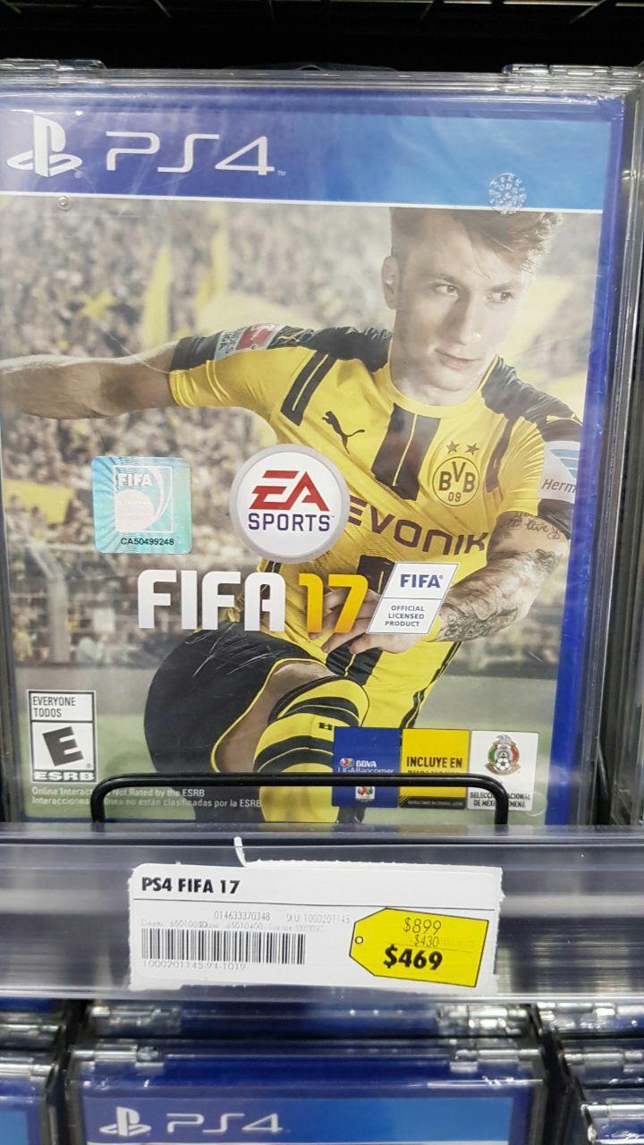 Best Buy: FIFA 2017 para PS4