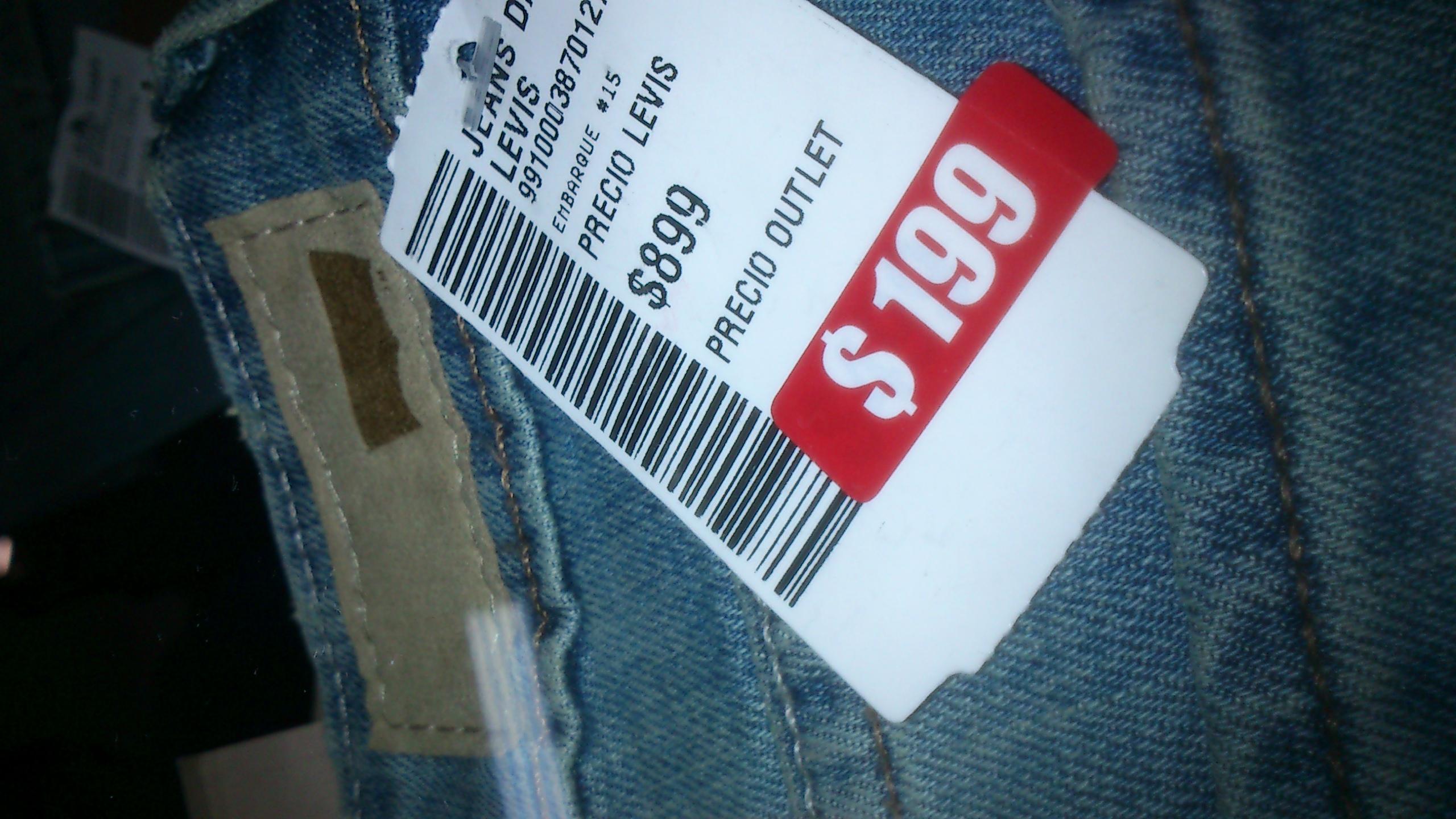 Promoda Outlet: Jeans Levi's desde $199