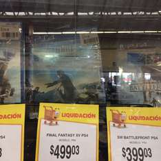 Walmart: Final Fantasy XV para PS4 a $499.03