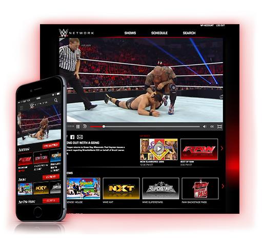 WWE NETWORK Gratis en el mes de noviembre