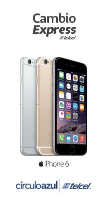 Telcel: cambio de iPhone desde 12 meses de contrato