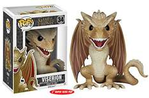 "Amazon: Funko POP! Viserion 6"" Game of Thrones Envío Gratis con Prime"