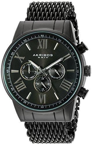 Amazon mx:  Reloj Akribos XXIV modelo AK919BK  negro
