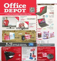 Folleto de ofertas de noviembre 2014 en Office Depot