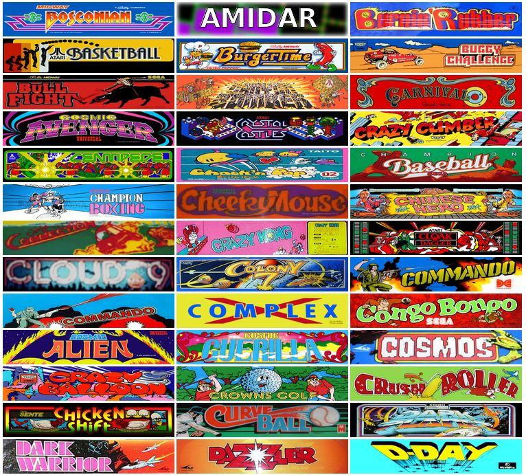 """900 Juegos de """"Maquinitas"""" (Coin-ops, o arcadias) gratis en el Archivo de Internet"""