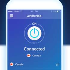 Windscribe VPN: 50 GB per month for free ongoing - Giveaways