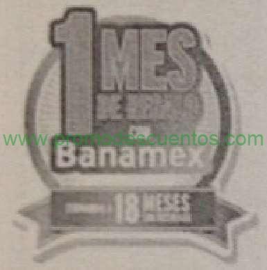 Promociones del Buen Fin 2014 con Banamex