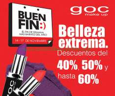 Ofertas del Buen Fin 2014 en GOC Make Up