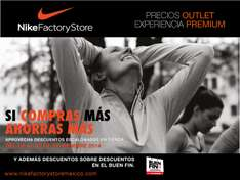 Ofertas del Buen Fin 2014 Nike Factory Store