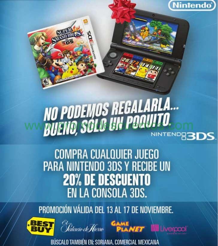 Ofertas del Buen Fin 2014 de Nintendo