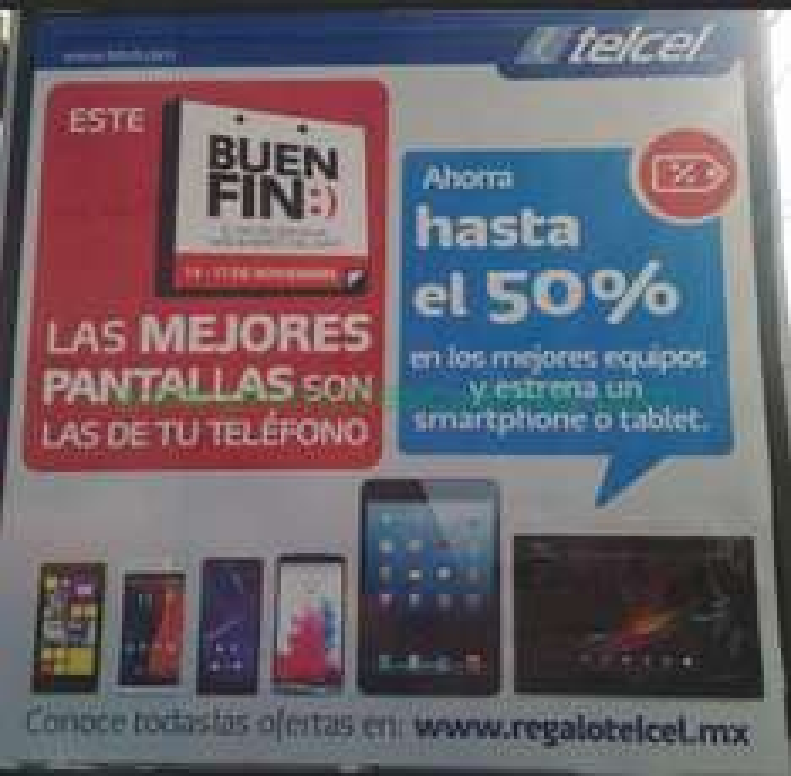 Ofertas del Buen Fin 2014 en Telcel