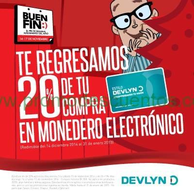 Promoción Devlyn para El Buen Fin