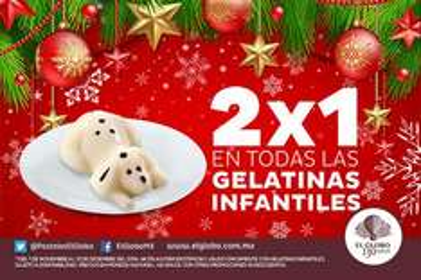 Pastelerías El Globo: 2x1 en gelatinas infantiles