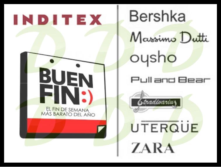 Promociones del Buen Fin 2014 en ZARA, Bershka, Pull & Bear, Massimo Dutti y más