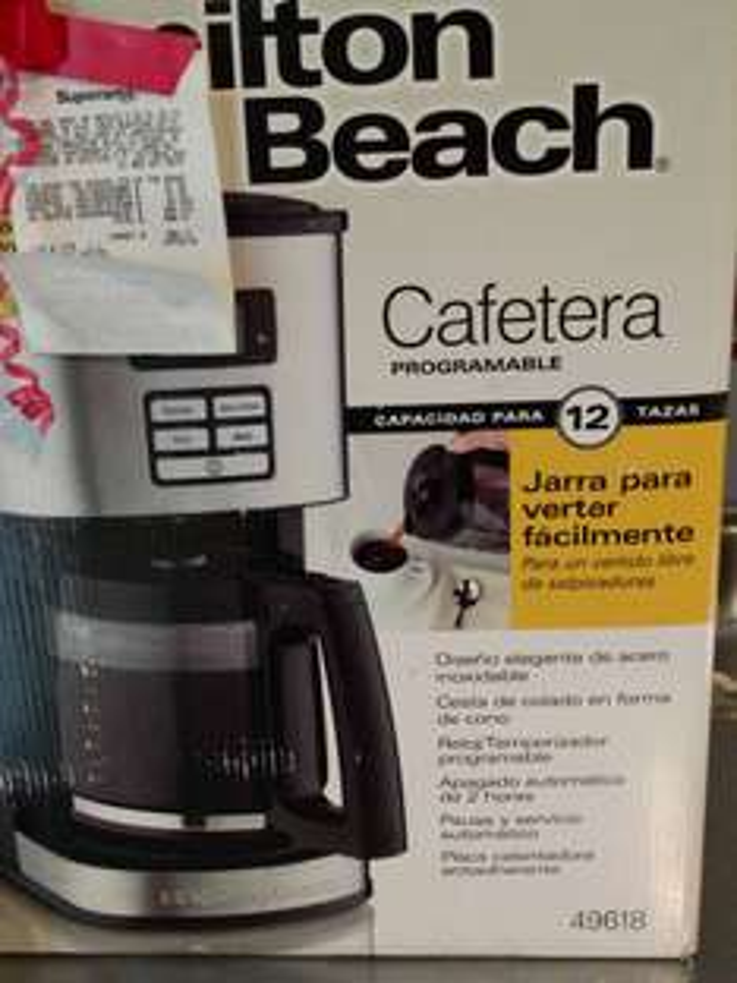 Superama campestre Aguascalientes. Cafetera Hamilton beach modelo 49618