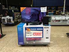 "Walmart: Pantalla Sanyo 55"" DP55D44S Led Full HD 120 Hz $8,999"
