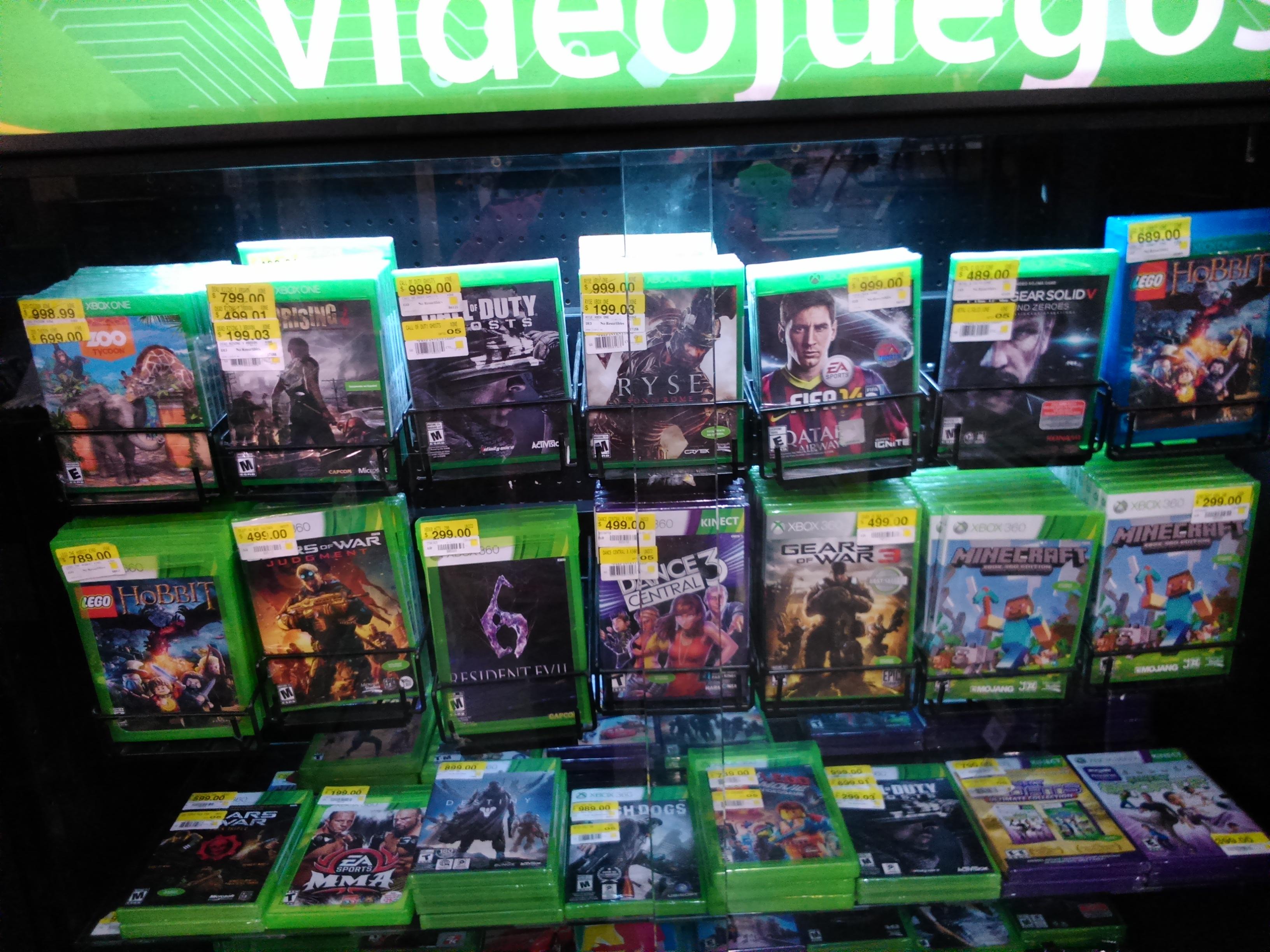 Bodega Aurrerá: Ryse o Dead Rising 3 Xbox One $199