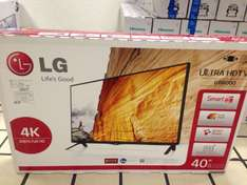 "Tienda Telmex: pantalla LG 4K 40"" smart 120 hz 40UB8000 $8,999"