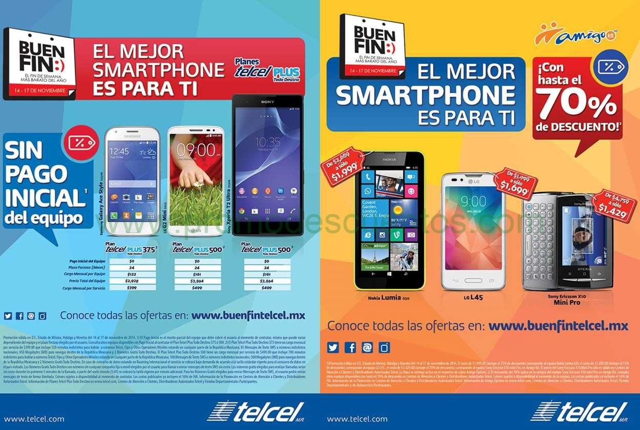 Promociones del Buen Fin 2014 de Telcel