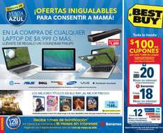Folleto de ofertas en Best Buy del 30 de abril al 7 de mayo