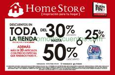 Ofertas del Buen Fin 2014 en The Home Store