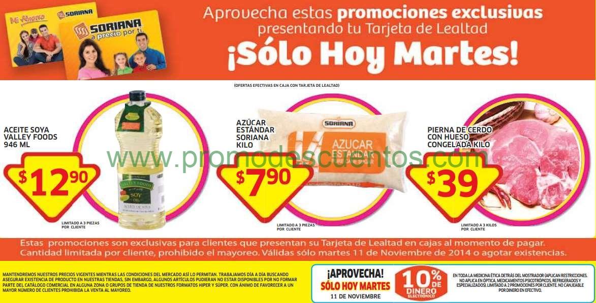 Soriana Híper: kilo de azúcar $8, aceite de soya $13, bonificación en medicinas y más