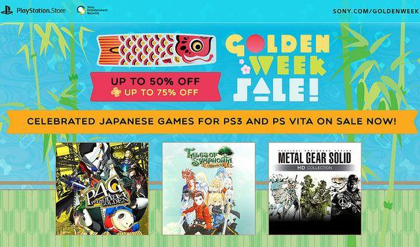 PlayStation Store: golden week con descuentos en juegos japoneses