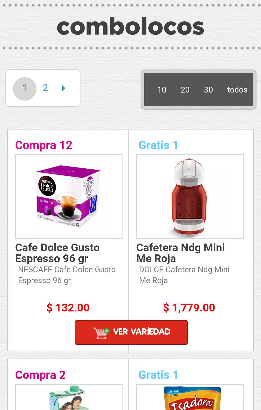 HEB: Combolocos HEB, varios combos con productos gratis