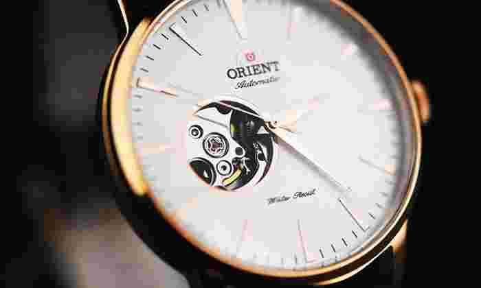 Groupon Mx: Reloj automático Orient Esteem (Open Heart)