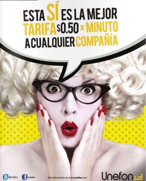 Unefon: minuto a México, Estados Unidos y Canadá a 50 centavos recargando $100