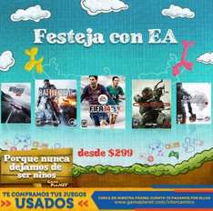 Game Planet: Battlefield 4 $499, Need for Speed Rivals $499, Crysis 3 $299 y más
