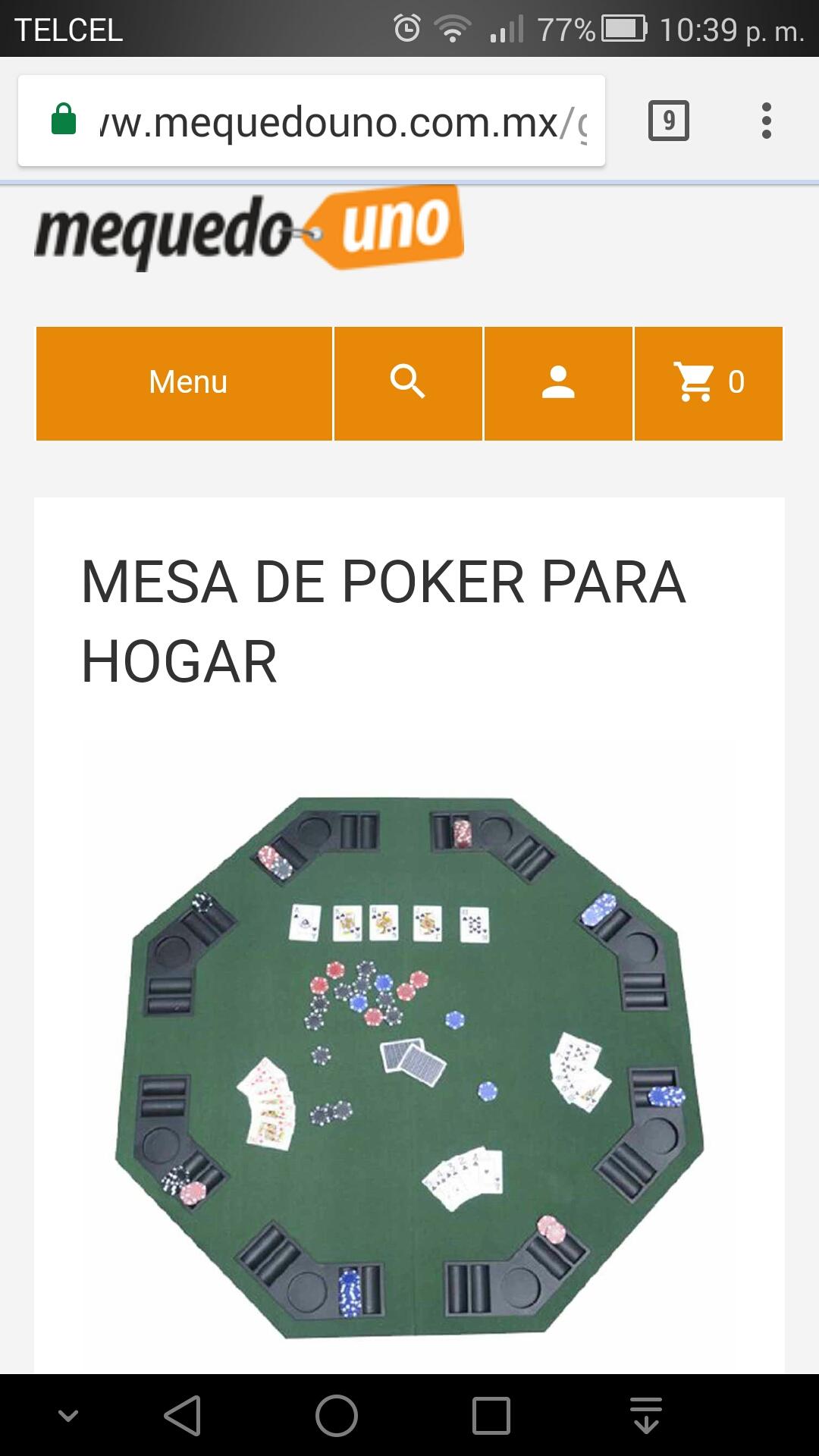 Mequedouno, mesa de poker a buen precio