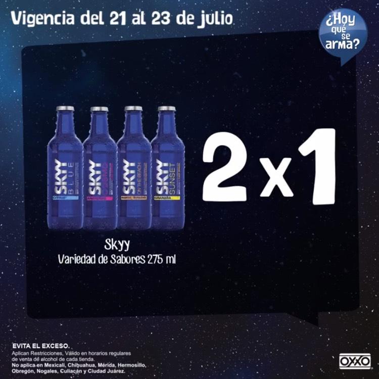 Oxxo: Sky 275ml 2x1  variedad de sabores