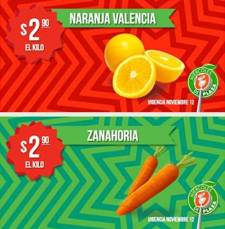 Miércoles de Plaza en La Comer noviembre 12: naranja $2.90 el kilo y más