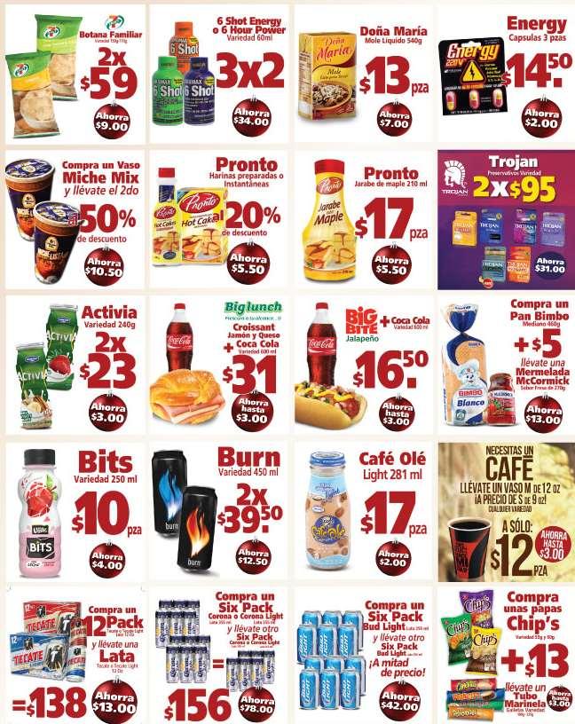 7-eleven: promociones del 6 de noviembre al 3 de diciembre: café de 12oz a precio de 9oz