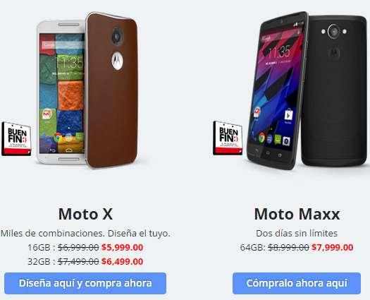 Ofertas del Buen Fin 2014 en Motorola: Moto X (2014) $5,999, Moto Maxx $7,999 y más