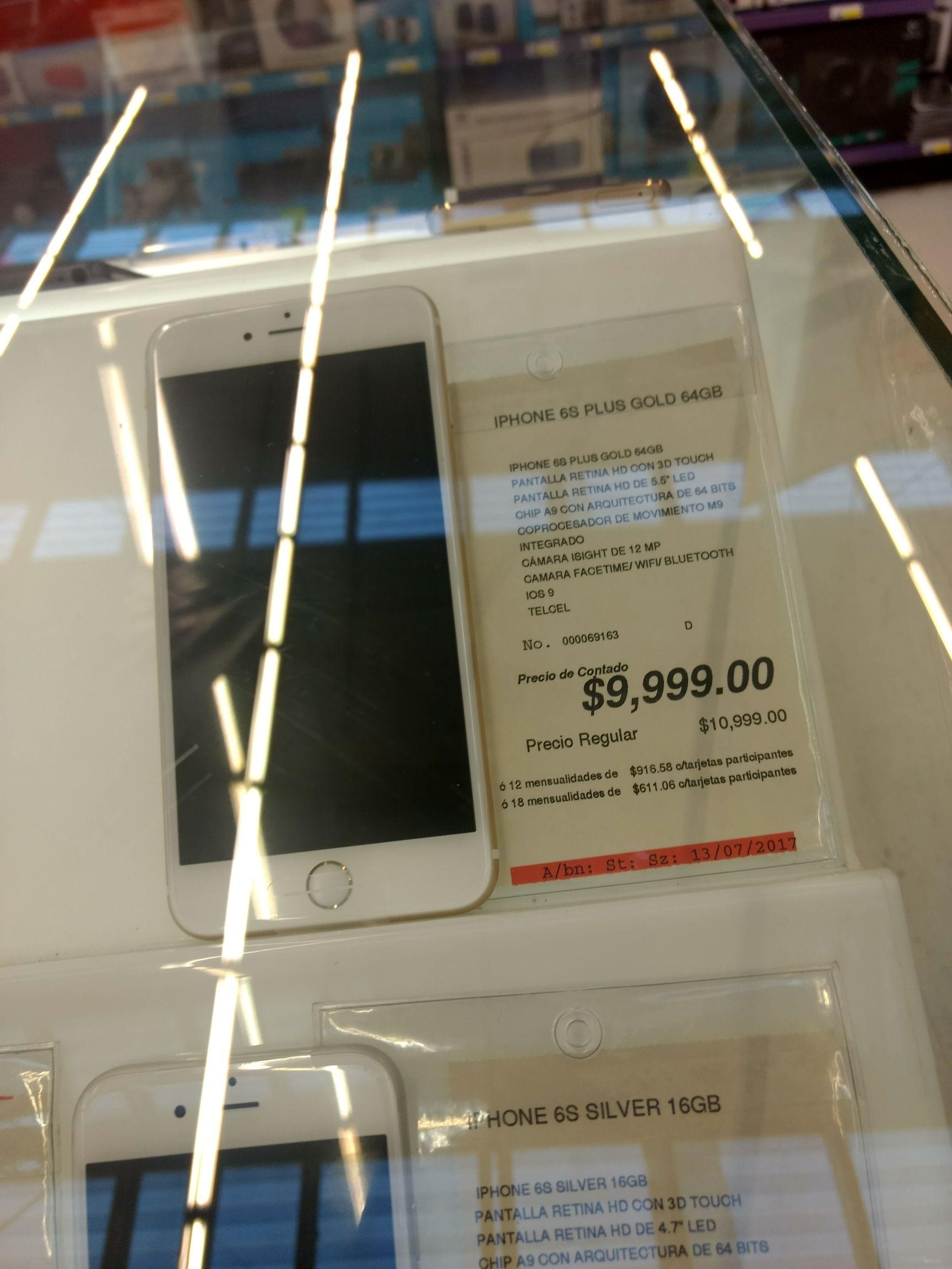 Office Depot: iPhone 6s Plus 64GB a $9,999 y más