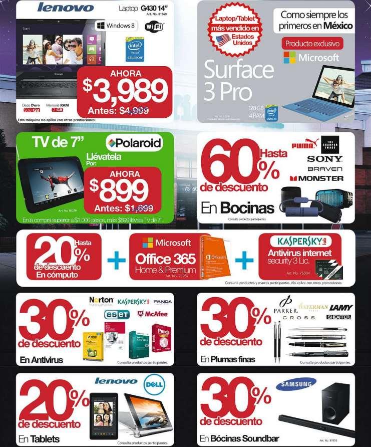 Ofertas del Buen Fin 2014 en OfficeMax: hasta 60% de descuento en bocinas y más